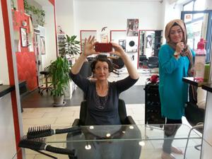 Im Türkischen Friseursalon