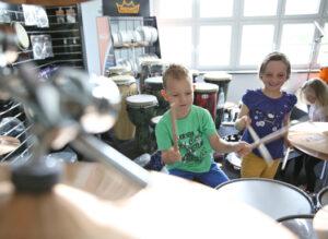 Trommeln lernen für Kinder