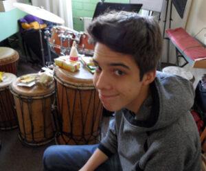 Schlagzeugschüler