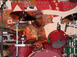 afrikansischer Drummer