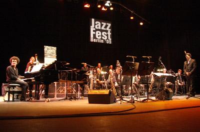 Bigband2 in Big Band Jazz und das Schlagzeug