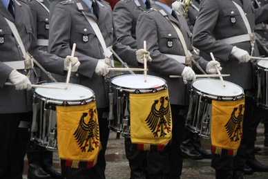 DrumCorps1 in Das Tempo, die Time, in der Musik
