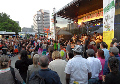 K11 in Ke Na Ko Festival Berlin Alexanderplatz 11. Juni 2015
