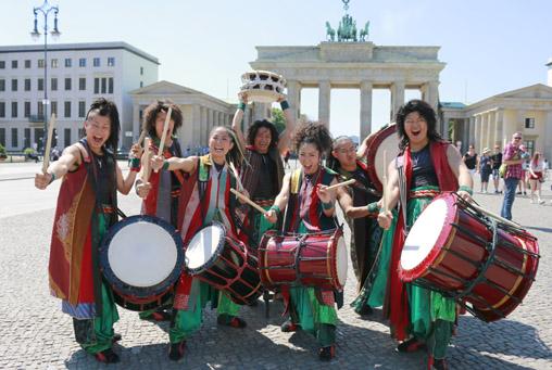 1 in Japanische Trommler in Berlin