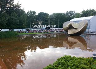 3 in Wassermusik Open Air Festival im HKW in Berlin