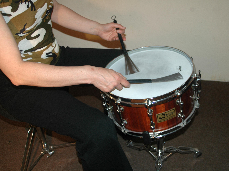 Besen1 in Schlagzeugbesen