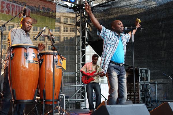 AC2 in Afrochanson in Berlin