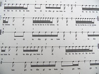 Indisch2 in Rhythmus Zählen