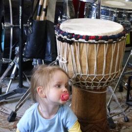 Schlagzeuger feiern