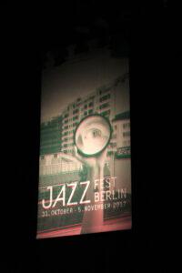 jazzplakat, berliner jazzfest17