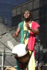 beim afrikafest in berlin