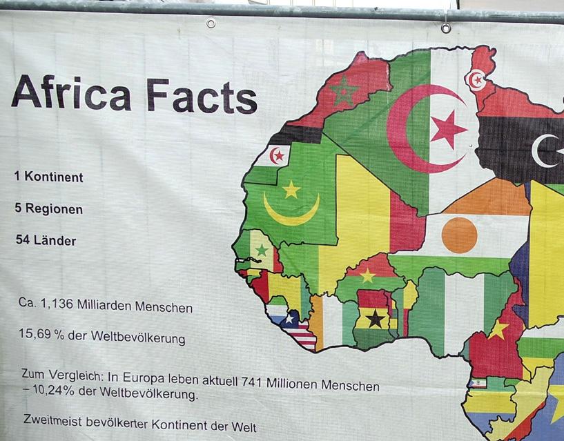 Karte-2 in Nord und Westafrika