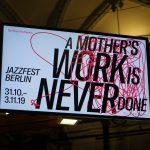 Jazzfest Berlin 2019-Eröffnung im Martin Gropius Bau