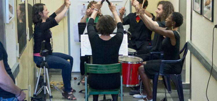 Perkussionunterricht